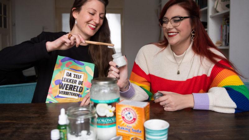 Zelf maken: frisse tandpasta met maar drie ingrediënten