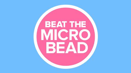 Microplastic in één tik vermijden met Beat the Microbead