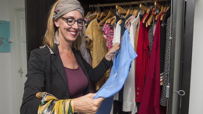 Ondernemer Irene Nagtzaam koopt zelden nieuwe kleding