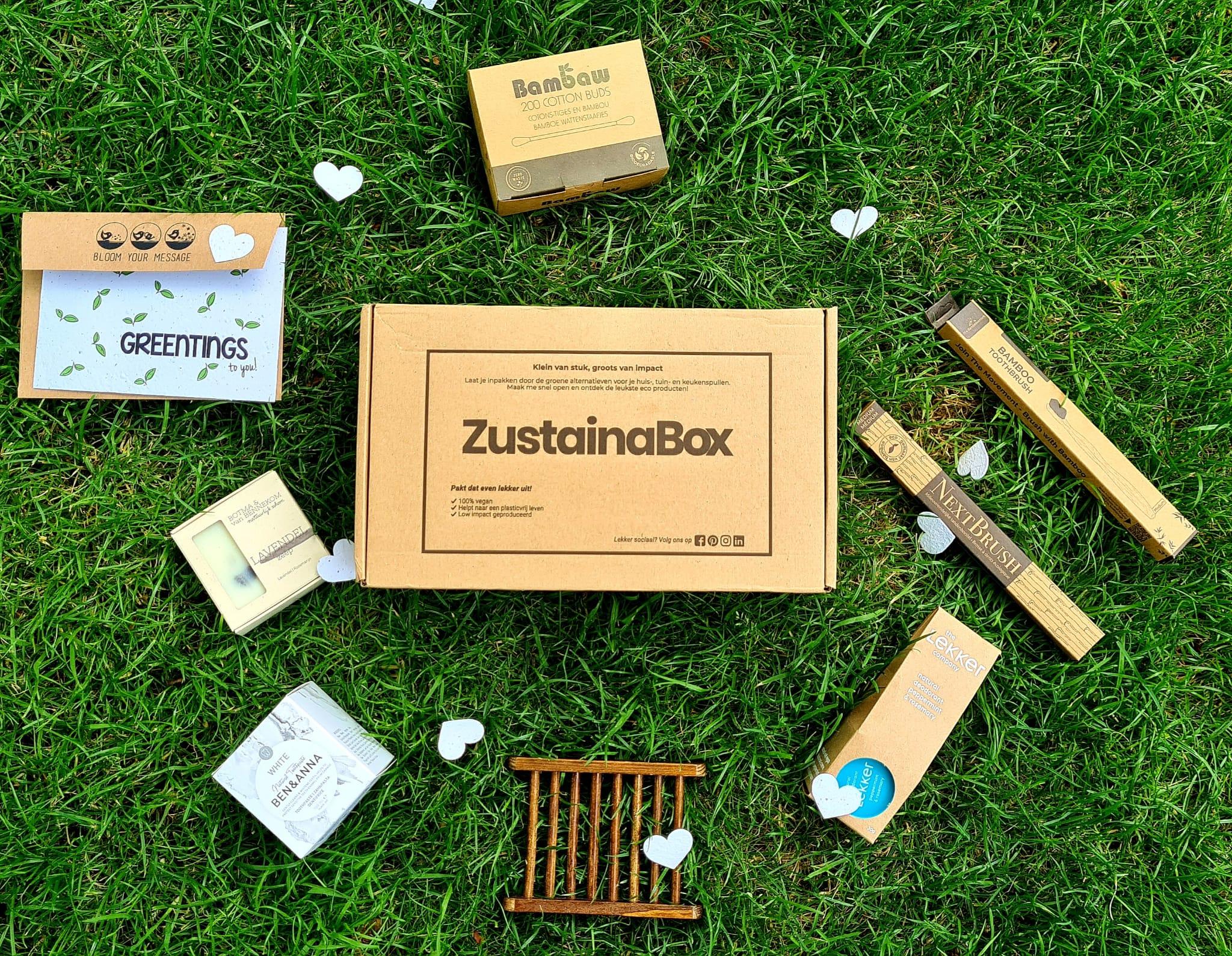 BadkamerBox van ZustainaBox: wat zit erin en is het wat?